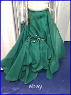 16 Tonner Doll Wizard Of Oz Emerald Promenade Elegant Green Gown Redhead NRFB