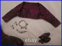 Black Orchid Brenda Starr Tonner Doll Outfit 400 Made 2004 Beaded fits Tyler