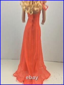 Citrine Dream Tyler. Stunning orange chiffon & sequin gown Tyler Sydney Tonner