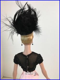 Collector item TDLM Fluer de Mal black & Pink 1940's gown dressed Sydney Tonner