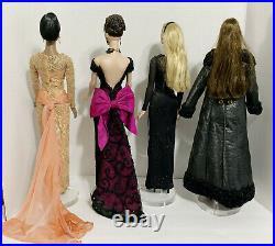 FOUR Robert Tonner 16 Fashion Dolls Tyler Wentworth