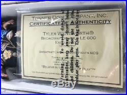 MIB Tonner BROADWAY LIGHTS Tyler Wentworth Broadway Cares AIDS Ben. 2005 LE600