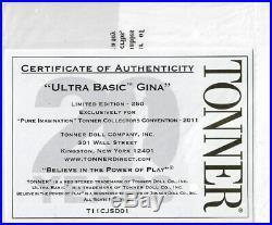 MIB Ultra Basic Gina Tonner Convention T11CJSD01 2011 LE 250 Cami Jon Antoinette