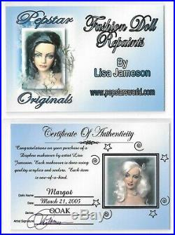 Mint Margot by Lisa Jameson Pepstar Tonner Repaint Nude Doll Daphne BW Body 2005