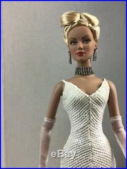 Platinum Panache Daphne white sequin gown hair Doll Sydney Tyler Tonner