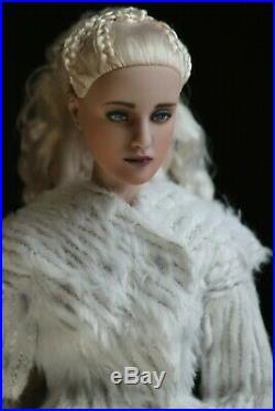 Repainted Daenerys Targaryen tonner doll Ooak doll & outfit by Serene Mae