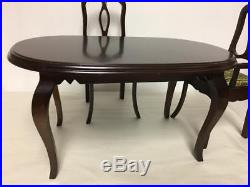 Robert Tonner Tyler Wentworth Dining Room Group Table & 4 Chairs Nice