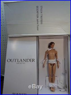 TONNER -OUTLANDER JAMIE FRASER(17) NUDE DOLL-Brand new doll/ outfit removed