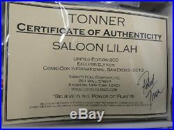 TONNER SALOON LILAH Jonah Hex T10DCSD03 LE 200