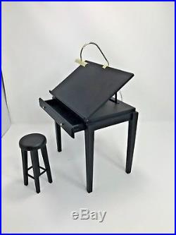 Tonner 1/4 Scale Tyler Wentworth Drafting Table And Stool