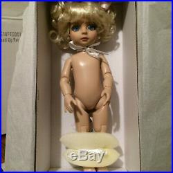 Tonner 10 Patsy Nude Doll Custom OOAK Repaint Bend Knees Arms & Designer Outfit