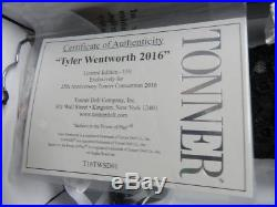 Tonner 25th Anniversary Convention 2016 Tyler Wentworth Limited
