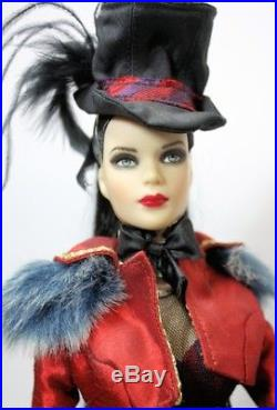 Tonner Doll Goth Tyler Dressed in Ringmaster Outfit