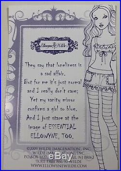 Tonner Ellowyne Wilde Essential Ellowyne Too-Brunette Brand New NRFB