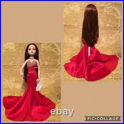 Tonner Ellowyne Wilde Imagination Doll Long AuburnHair Red Fancy Dress Wrist Tag