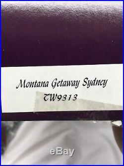Tonner MONTANA GETAWAY Sydney 16 Vinyl dressed DOLL & HORSE SET LE 500 MIB