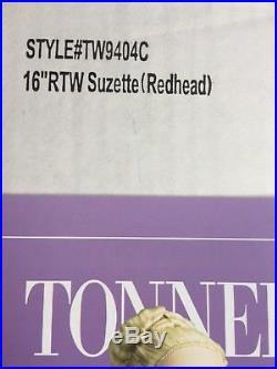 Tonner Tyler 16 Cherished Friends RTW SUZETTE DUBOIS REDHEAD Fashion Doll NRFB