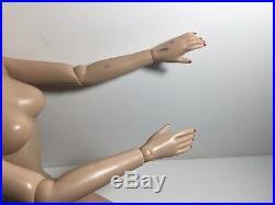 Tonner Tyler Daphne Vintage Basics USED 16 Doll NUDE BW Body Brenda