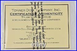 Tonner Tyler Wentworth A Midsummer's Night Dream Companion Doll LE TW9432 NRFB