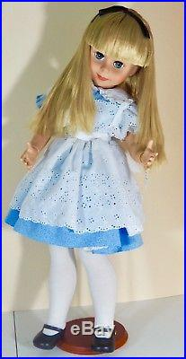Tonner doll 29 inch Betsy McCall as Alice in Wonderland limited edition of 500