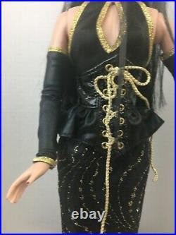 Wolfsbane Sister Dreary gothic black fully Dress Doll Sydney Tyler Tonner